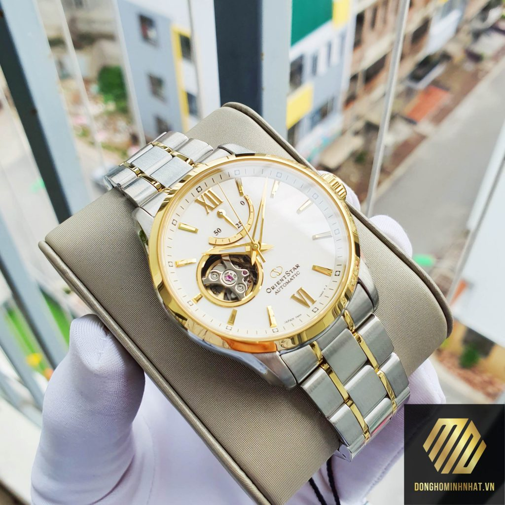 ĐỒNG HỒ ORIENT STAR SEMI SKELETON RE-AT0004S00B
