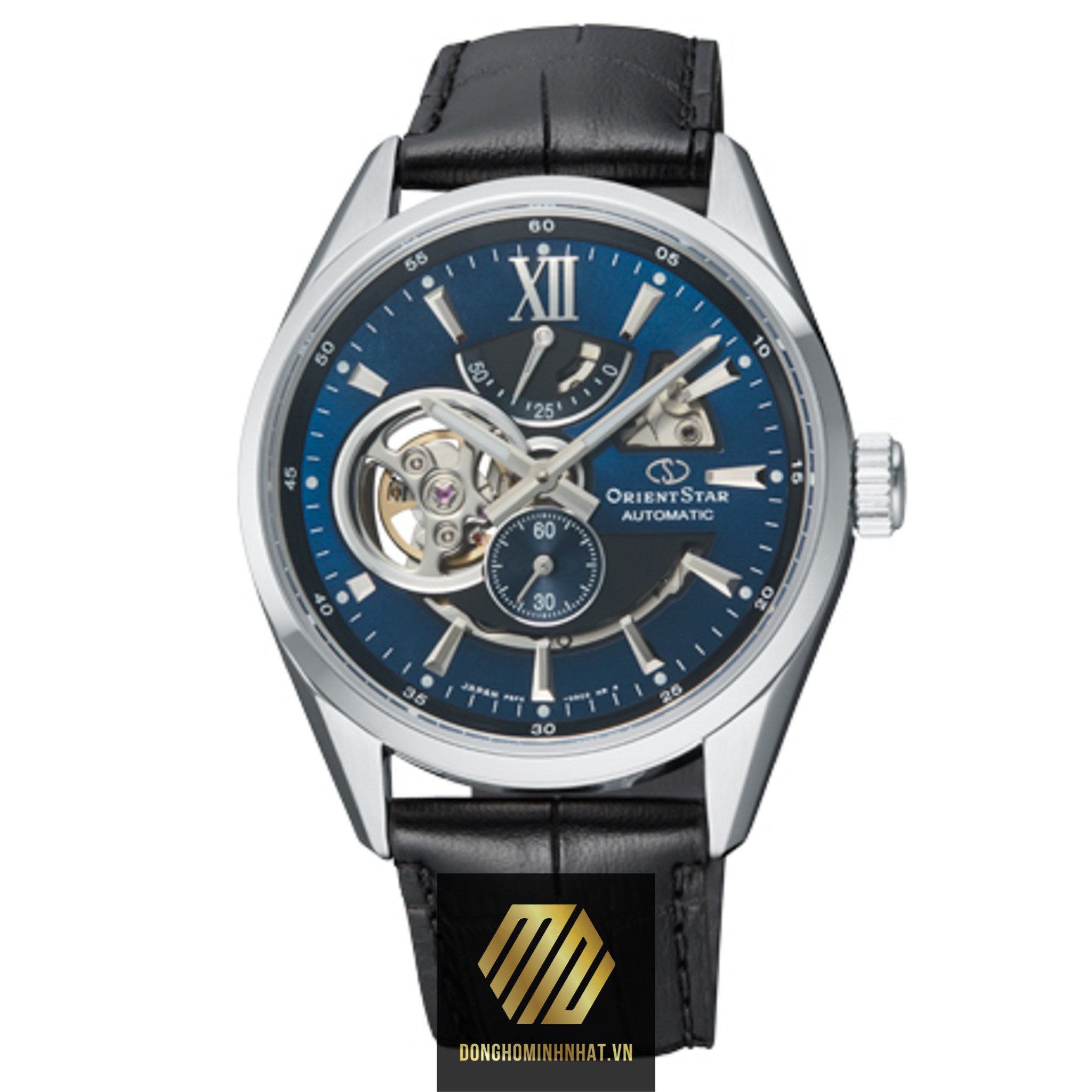 ĐỒNG HỒ ORIENT STAR SEMI SKELETON RE-AV0005L00B