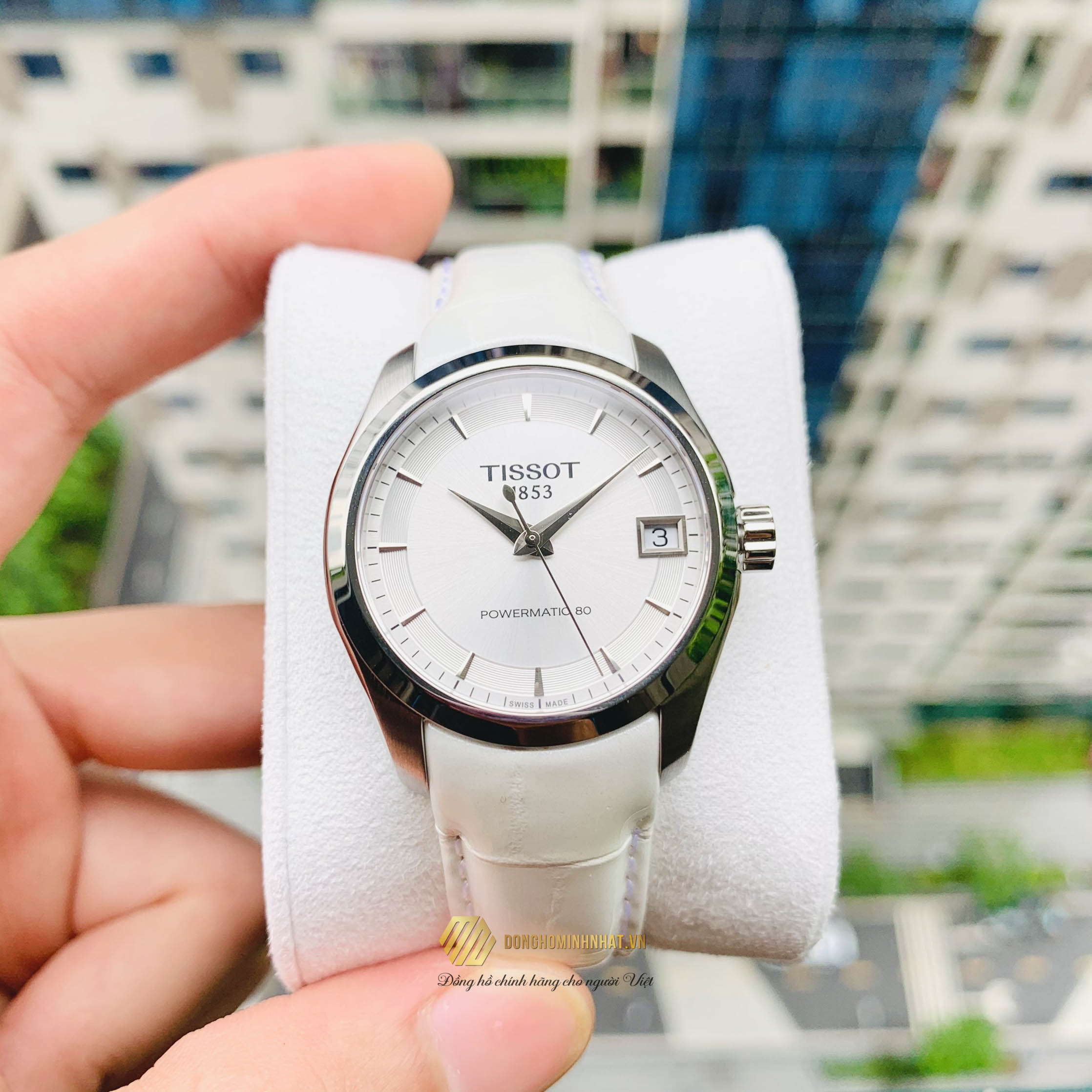 ĐỒNG HỒ NỮ TISSOT COUTURIRE LADY POWERMATIC 80 – T035.207.16.031.00