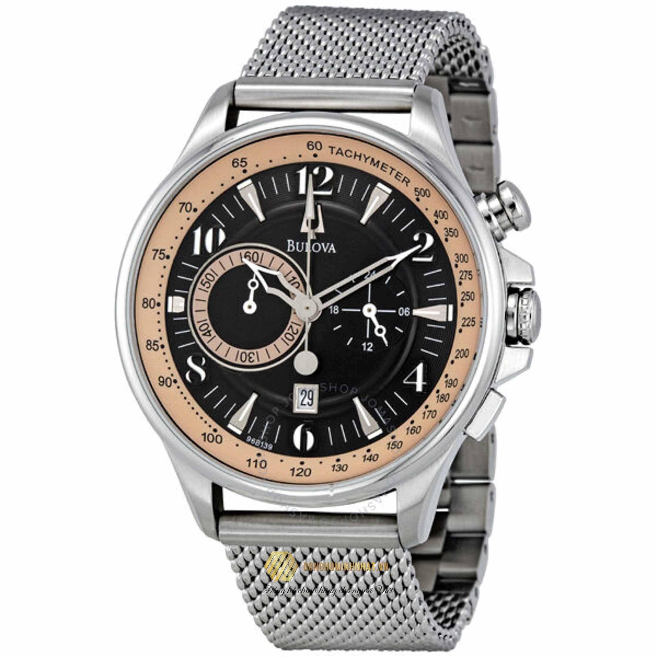 ĐỒNG HỒ BULOVA 96B139 Adventurer Chronograph Men's Watch