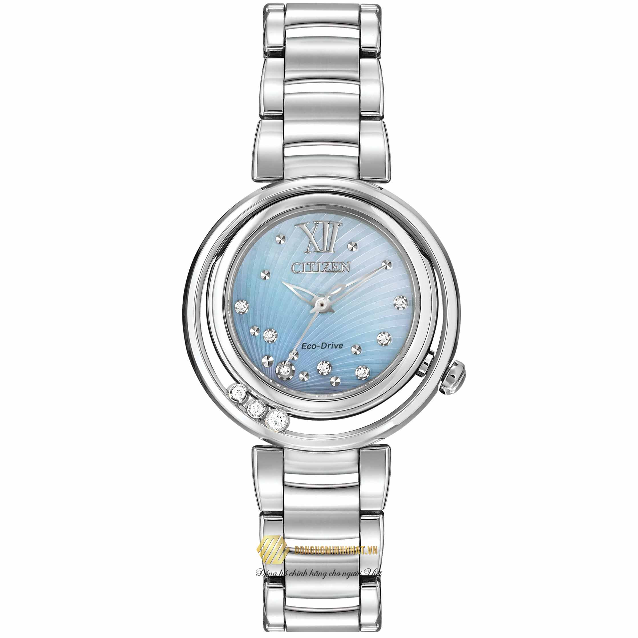 ĐỒNG HỒ CITIZEN EM0320-59D Eco-Drive Women's Sunrise Watch