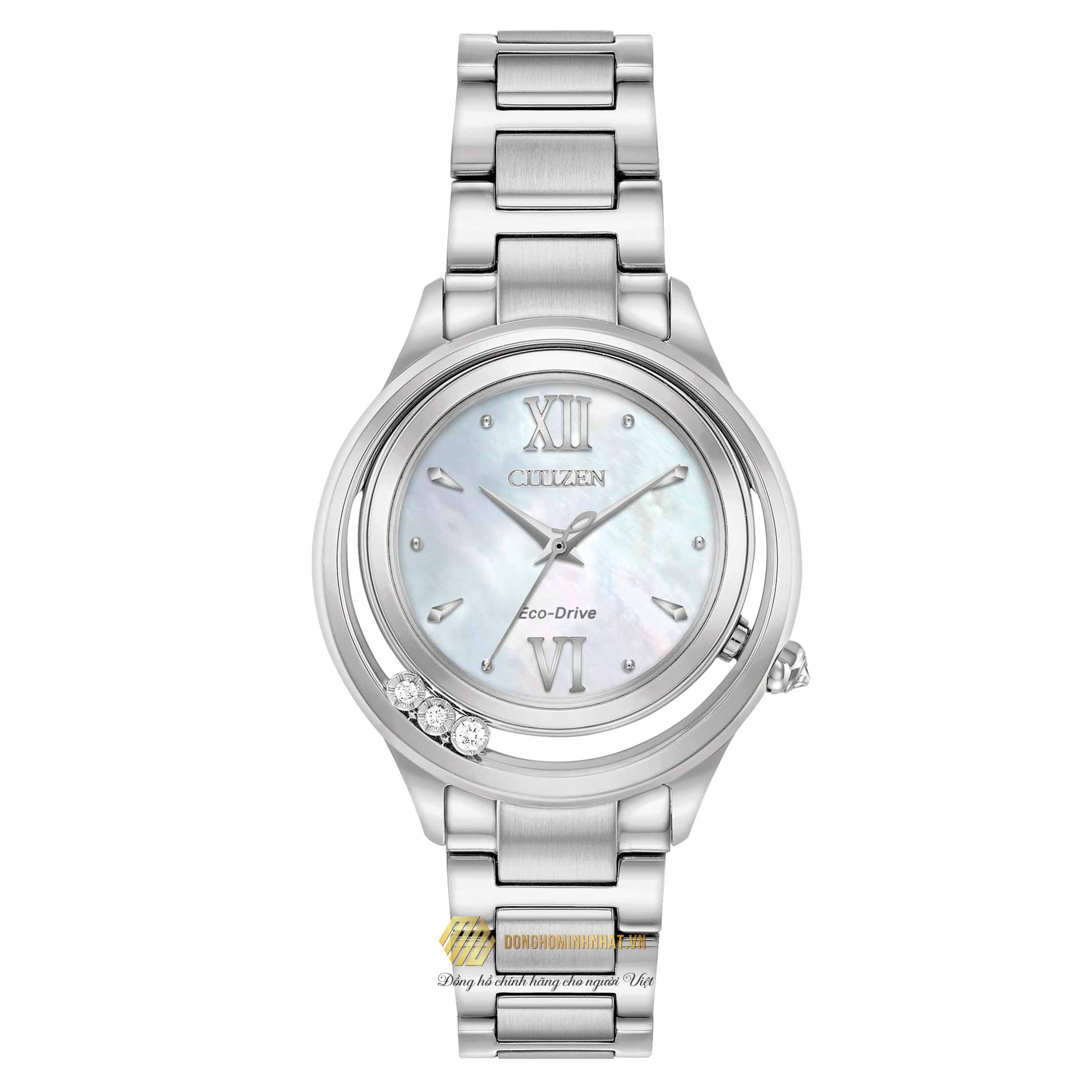 ĐỒNG HỒ CITIZEN EM0510-53D Eco-Drive Women's Sunrise Watch