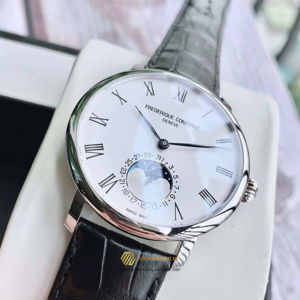 FREDERIQUE CONSTANT FC-705WR4S6 SLIMLINE MOONPHASE 42MM